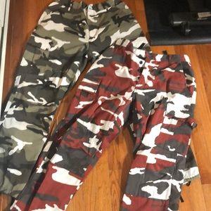Zumiez men's camo pants